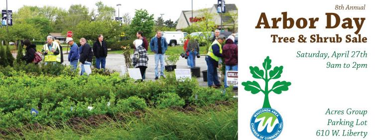 Arbor Day Sale in Wauconda