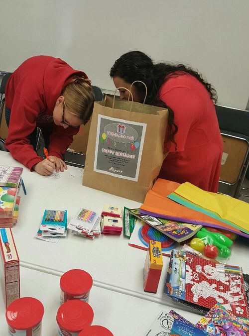 Acres Group Builds Birthday Gift Bags For Children In Need