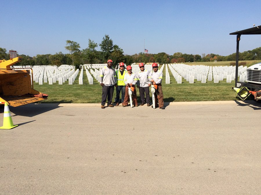 Acres Tree Care Serves Abraham Lincoln National Cemetery