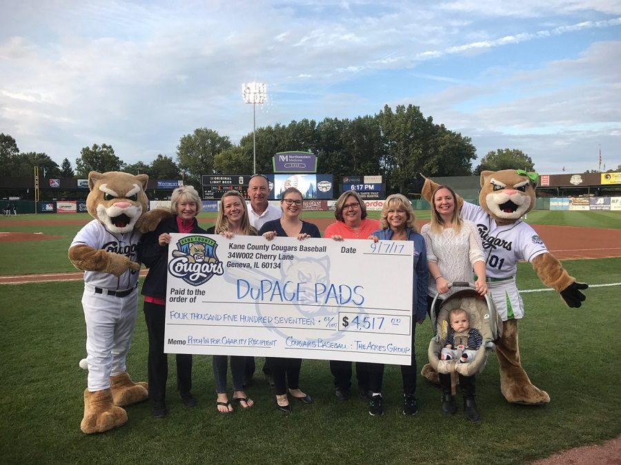 "Acres Partners With Kane County Cougars ""Pitch In For Charity"""